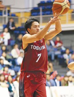 ゴールを狙う篠山選手