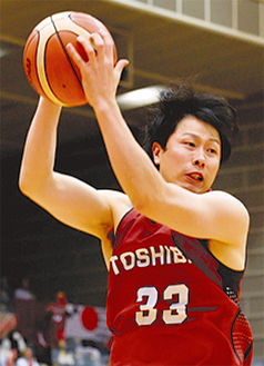 勝利に貢献した長谷川技選手