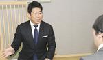 今年の取り組みについて語る福田市長