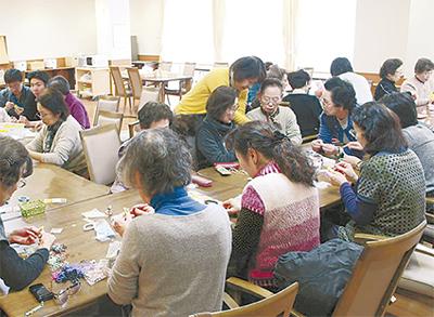 高齢者施設と町会がコラボ