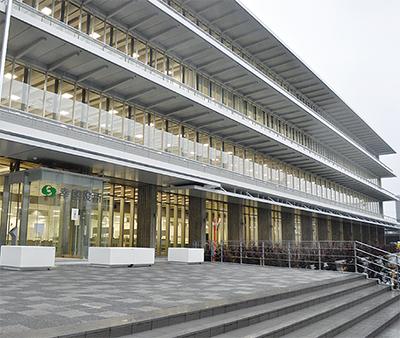 区役所新庁舎が完成