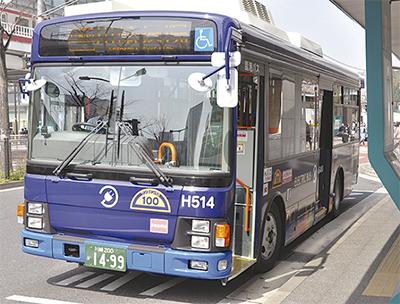 県内初のEVバスが始動