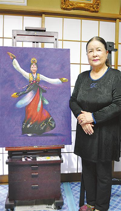 日朝芸術家の作品展示