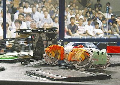 ロボット大会出場者決まる
