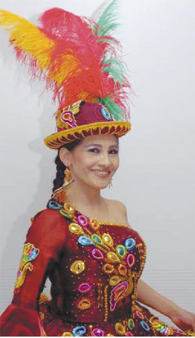ボリビア民族音楽を披露