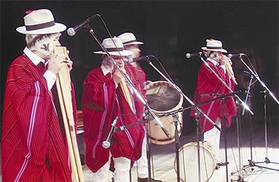 ボリビア文化を堪能