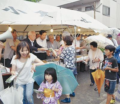 小倉神社できゅうりまつり