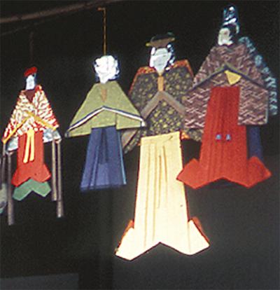 長野の七夕人形作り