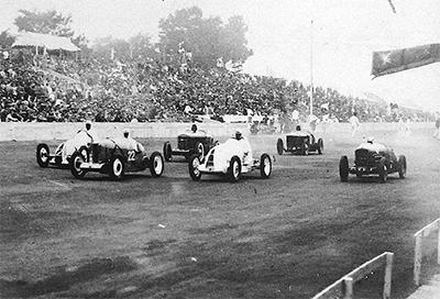 80年前のレース映像公開