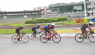 元プロ指導 競技自転車教室