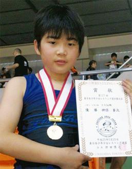 東日本大会では金メダルを獲得(5月)