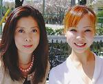 羽部美華さん(左)としのだ彩先生