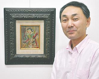 「長谷川の作品にある時代を超えた普遍的な力を感じてほしい」と福山さん