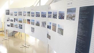 環境情報センターで展示されている写真