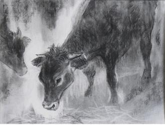 戸田みどり「故郷へ帰る日―被ばくした牛」