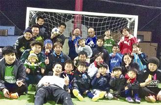遠藤代表が参加するフットサルイベント「縁蹴楽」