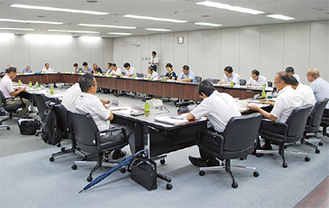 前期事業が報告された実行委員会
