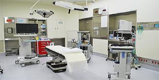 整備された手術室