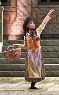 舞台「マイ・フェア・レディ」ではヒロインの子ども時代を熱演した=提供/東宝演劇部