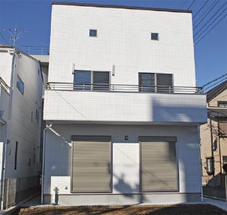 中央区千代田に設けられた新たなモデルハウス