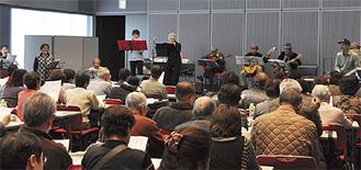 100人以上の参加者が生演奏で歌うイベント(写真は前回)