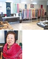 展示会で伝統工芸を支援