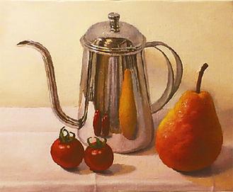食卓の風景を描いた作品