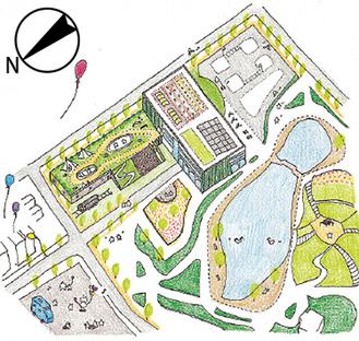 鹿沼公園のイメージ図