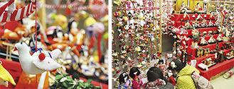 色鮮やかな作品が並んだ昨年の展示会