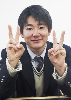笑顔で話してくれた戸塚優斗さん