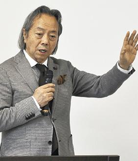 登壇した松本氏