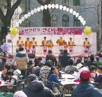 昨年のおださがさくら祭り