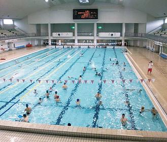 9月中旬まで利用できる同施設のプール
