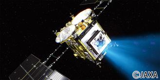 出発から3年半をかけ、小惑星リュウグウに到着した「はやぶさ2」