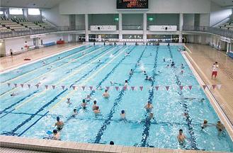 来年度以降休止となる同施設のプール