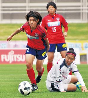 C大阪堺には今季2勝しているノジマ(写真は6月のカップ戦)