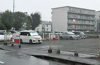 9月24日に20台以上が被害に遭った駐車場