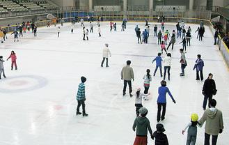 同所のスケートリンク