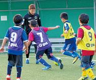 SC選手と子どもら交流