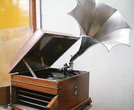 蓄音機で名曲を