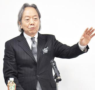 元外交官で、登壇予定の松本氏