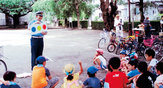 小学生向けの交通ルール教室