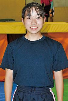 全日本選手権へ向け練習する石坂さん