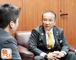 市政について熱く語る本村市長