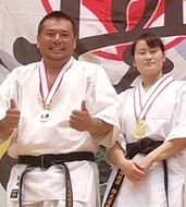全日本でアベック優勝