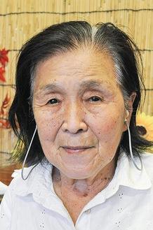 戦時中の田名を回顧し、穏やかに話す熊澤さん