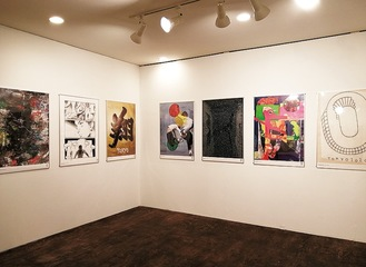 アートラボの展示の様子