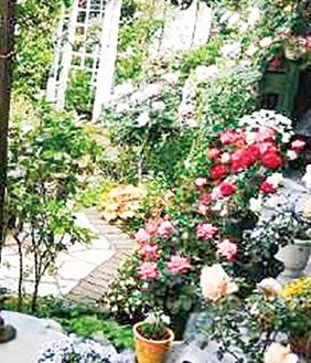 過去の庭園の様子