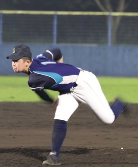 第52回日本少年野球選手権大会の先発投手も務めた=提供