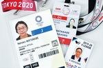 大会ごとに発行されるICカード